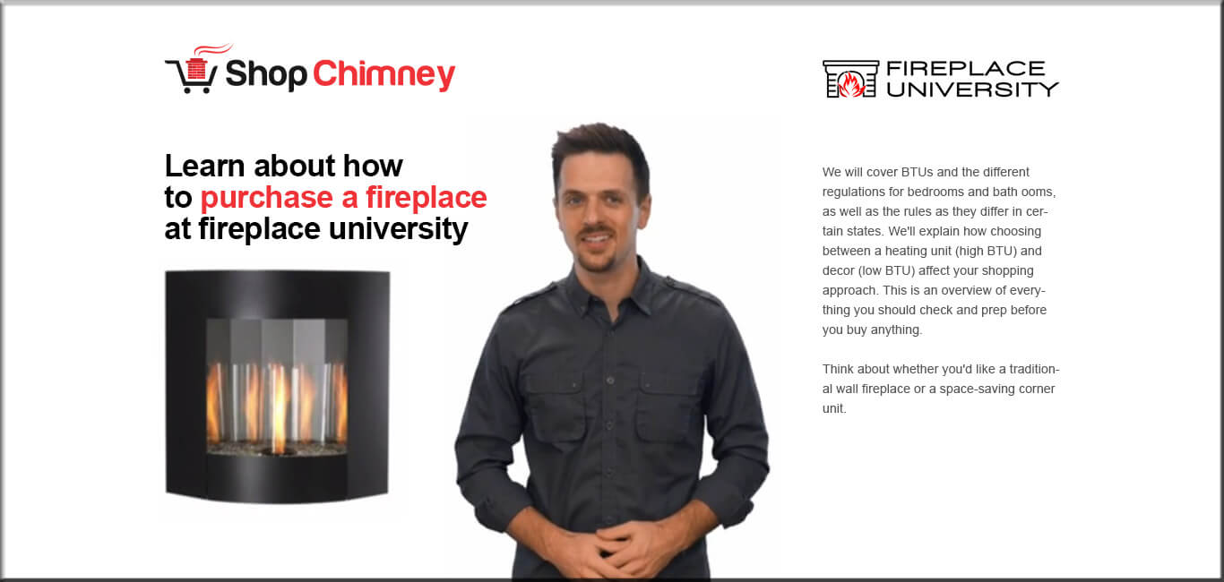 Learn Fireplace Purchasing