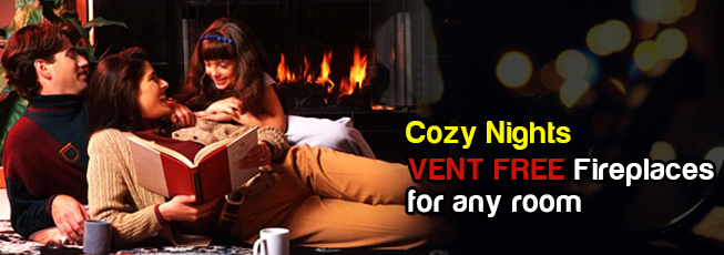 Vent Free Fireplaces Sale
