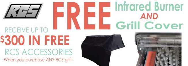 RCS GRILL FREE OFFER